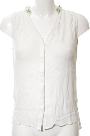 Comptoir des Cotonniers ärmellose Bluse weiß Casual-Look