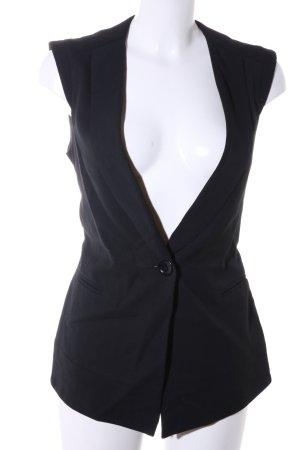 Comptoir des Cotonniers Gilet de costume noir