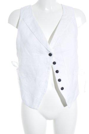 Comptoir des Cotonniers Anzugweste weiß Elegant