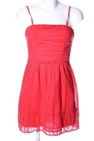 Comptoir des Cotonniers Abito a fascia rosso stile casual