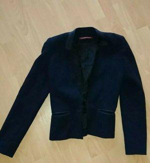 Comptoir des Cotonniers Korte blazer donkerblauw