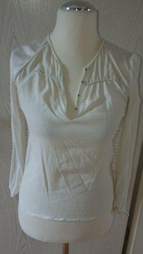 Comptoir des cotonniers, Bluse/Shirt, Luxus, Gr. 36, Creme , TOPZUSTAND