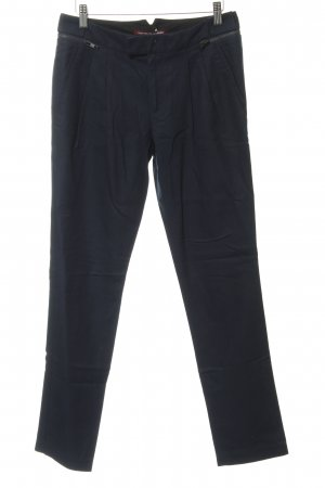 Comptoir des Cotonniers Bundfaltenhose dunkelblau schlichter Stil