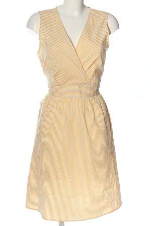 Comptoir des Cotonniers Empire Dress white-primrose striped pattern casual look