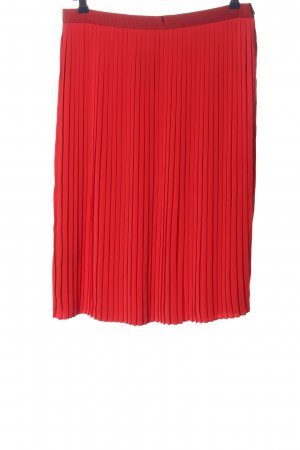 Comptoir des Cotonniers Gonna a pieghe rosso stile casual