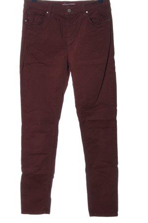 Comptoir des Cotonniers Pantalon cinq poches brun style décontracté