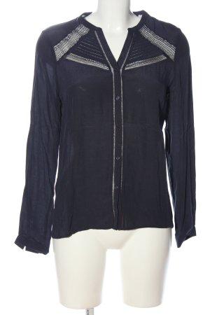 Comptoir des Cotonniers Hemd-Bluse blau Elegant