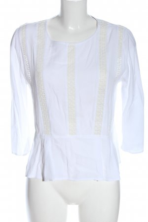 Comptoir des Cotonniers Hemd-Bluse weiß Streifenmuster Casual-Look