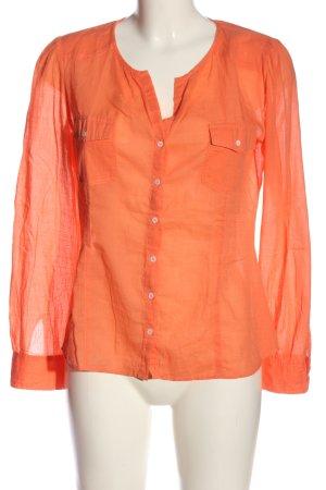 Comptoir des Cotonniers Camicia blusa arancione chiaro stile casual
