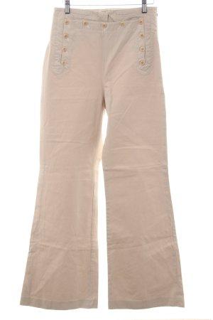 Comptoir des Cotonniers Hoge taille broek licht beige straat-mode uitstraling