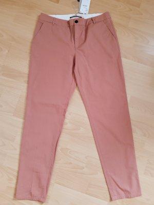 Comptoir des Cotonniers Five-Pocket Trousers dusky pink-beige cotton