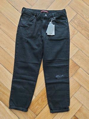 Comptoir des Cotonniers Wortel jeans zwart Katoen