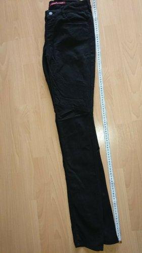 Comptoir des Cotonniers, Jeans, Schwarz, Biker Stil, Gr 36