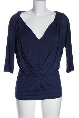 Comptoir des Cotonniers Kimono Blouse blue business style