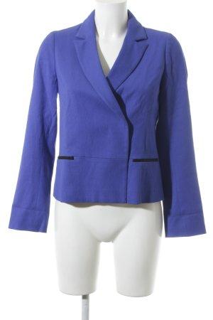 Comptoir des Cotonniers Kurz-Blazer blau schlichter Stil