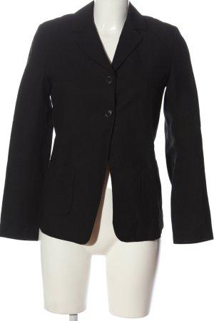 Comptoir des Cotonniers Korte blazer zwart zakelijke stijl