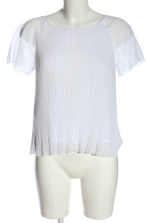 Comptoir des Cotonniers Camicetta a maniche corte bianco stile professionale