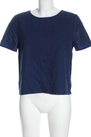 Comptoir des Cotonniers Camicetta a maniche corte blu stile casual