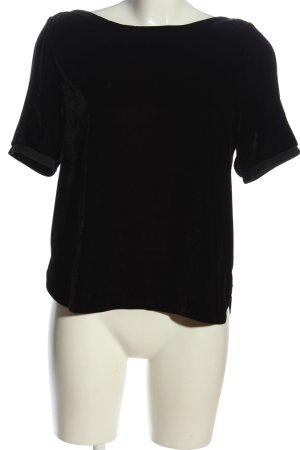 Comptoir des Cotonniers Camicetta a maniche corte nero stile casual