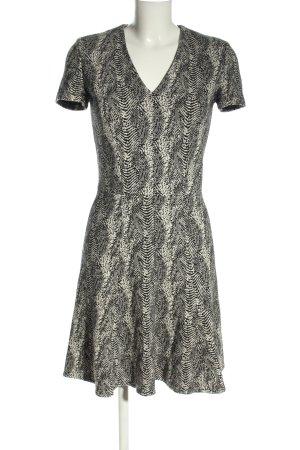 Comptoir des Cotonniers Shortsleeve Dress black-white allover print casual look