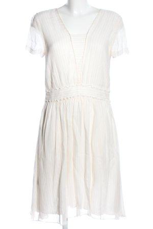 Comptoir des Cotonniers Shortsleeve Dress natural white striped pattern elegant