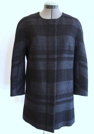 Comptoir des Cotonniers Krótki płaszcz czarny-antracyt