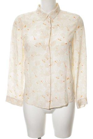 Comptoir des Cotonniers Long Sleeve Blouse natural white-light orange