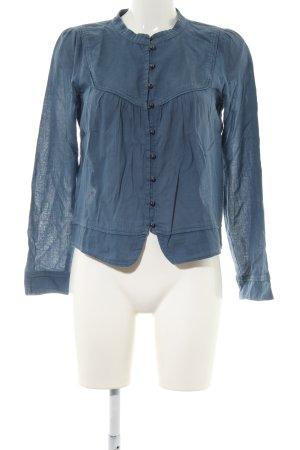 Comptoir des Cotonniers Langarm-Bluse blau Casual-Look