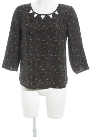 Comptoir des Cotonniers Langarm-Bluse mehrfarbig Business-Look