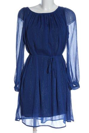 Comptoir des Cotonniers Langarmkleid blau Streifenmuster Elegant
