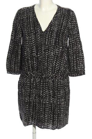 Comptoir des Cotonniers Longsleeve Dress black-white allover print casual look