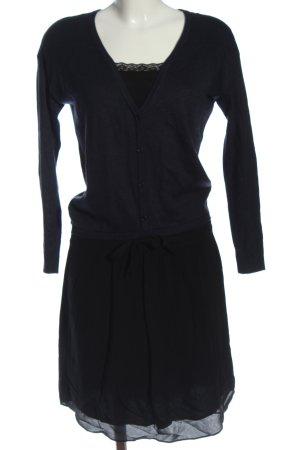 Comptoir des Cotonniers Longsleeve Dress blue-black casual look