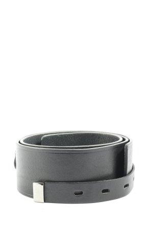 Comptoir des Cotonniers Cintura di pelle nero stile casual