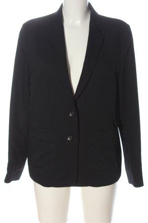 Comptoir des Cotonniers Lange blazer zwart zakelijke stijl