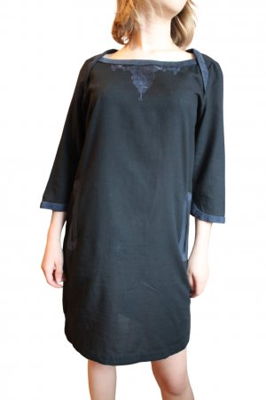 Comptoir des Cotonniers Camicetta lunga nero-grigio chiaro stile casual