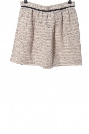 Comptoir des Cotonniers Miniskirt light grey-natural white flecked casual look
