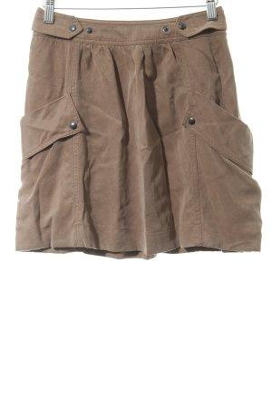 Comptoir des Cotonniers Miniskirt light brown simple style