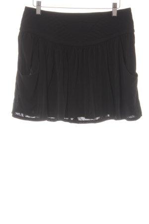 Comptoir des Cotonniers Minirock schwarz minimalistischer Stil