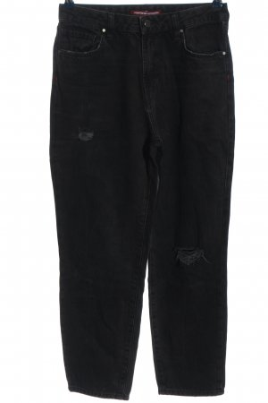 Comptoir des Cotonniers Mom-Jeans schwarz Casual-Look