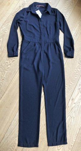 Comptoir des Cotonniers Jumpsuit dark blue polyester