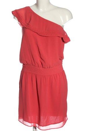 Comptoir des Cotonniers One-Shoulder-Kleid rot Elegant