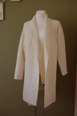 Comptoir des Cotonniers Veste tricotée en grosses mailles beige clair