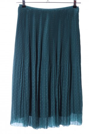 Comptoir des Cotonniers Pleated Skirt blue allover print casual look