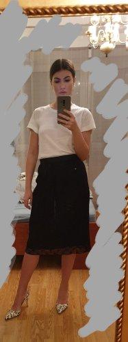 Comptoir des Cotonniers Lace Skirt black