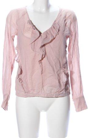 Comptoir des Cotonniers Rüschen-Bluse pink Elegant
