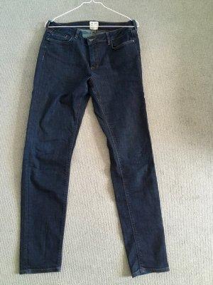 Comptoir des Cotonniers Jeans a gamba dritta blu scuro Cotone