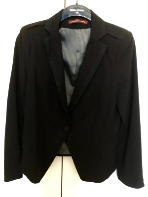 Comptoir des Cotonniers Blazer in lana nero Lana