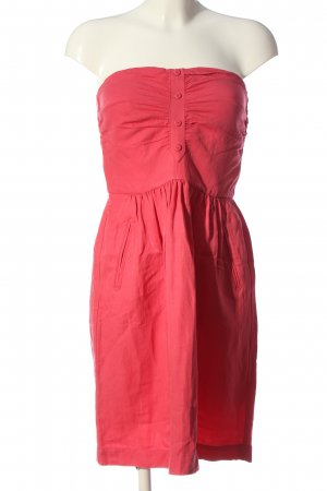 Comptoir des Cotonniers Sukienka bez ramiączek różowy W stylu casual