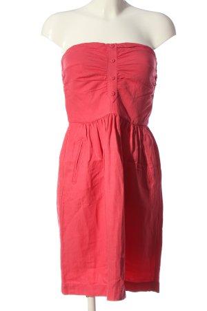 Comptoir des Cotonniers schulterfreies Kleid pink Casual-Look