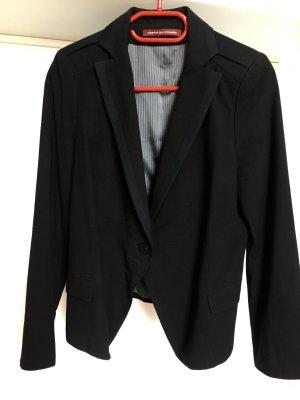Comptoir des Cotonniers Wollen blazer zwart Wol